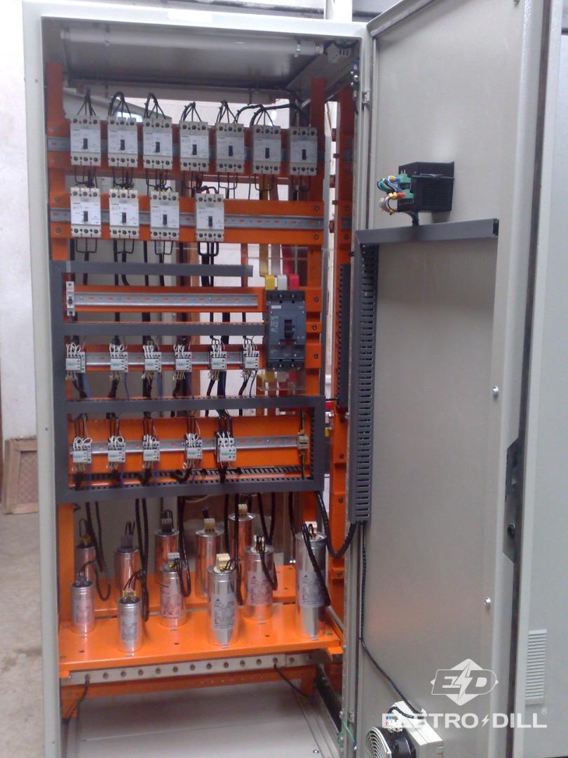 Quadro/Painel com banco de capacitores (QBC)