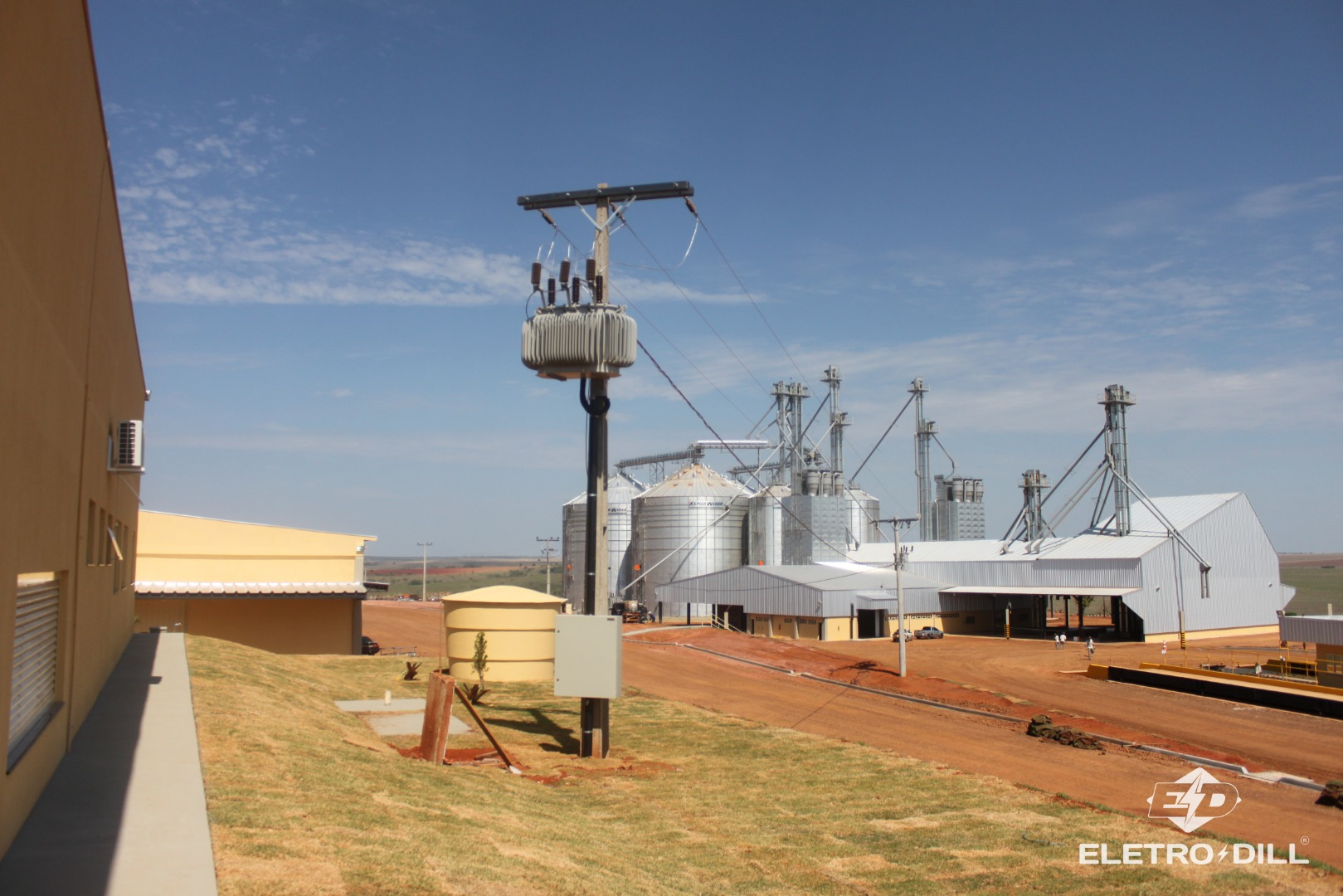 Cabine de Medição, Torre de Transformação, Subestação